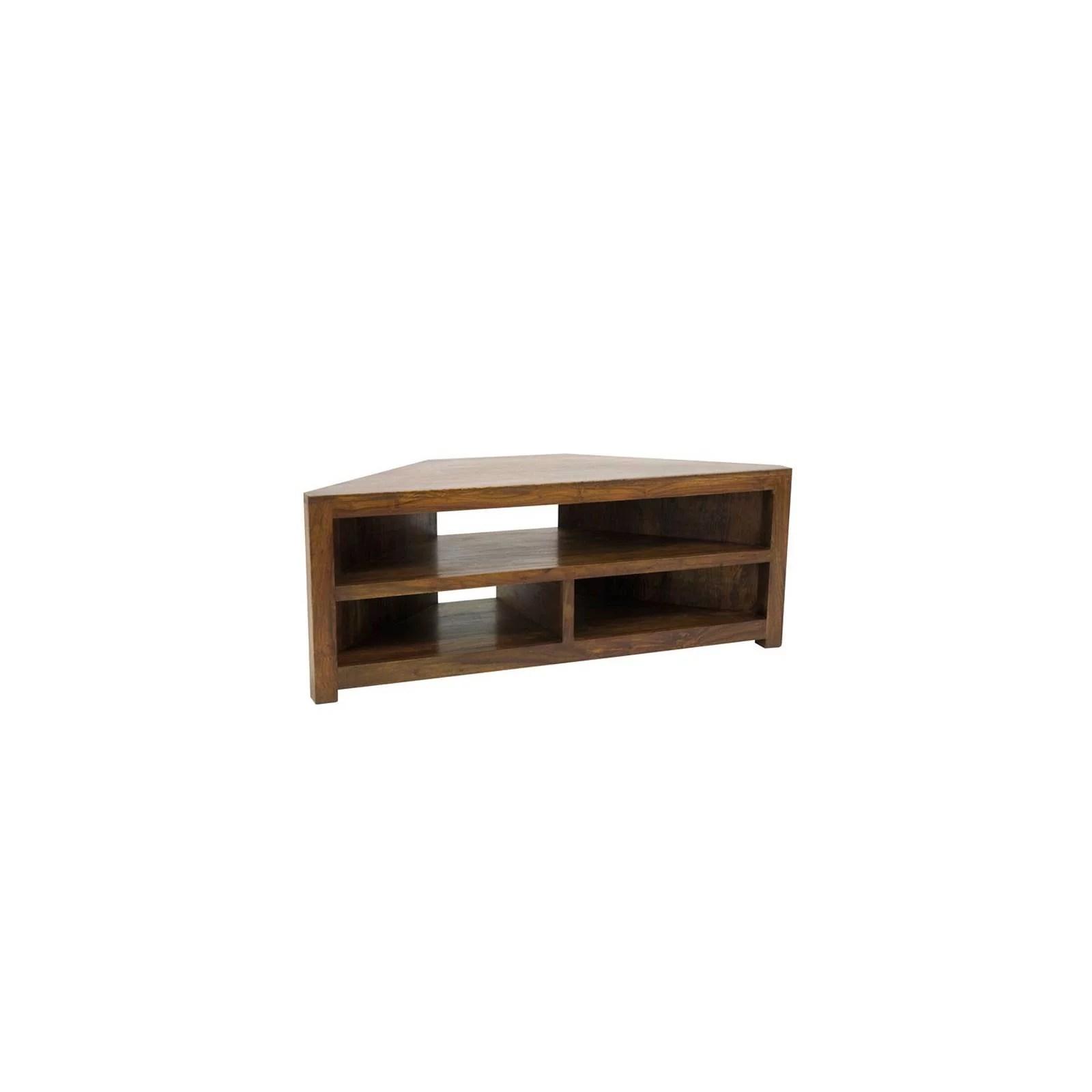 meuble tv d angle palissandre zen