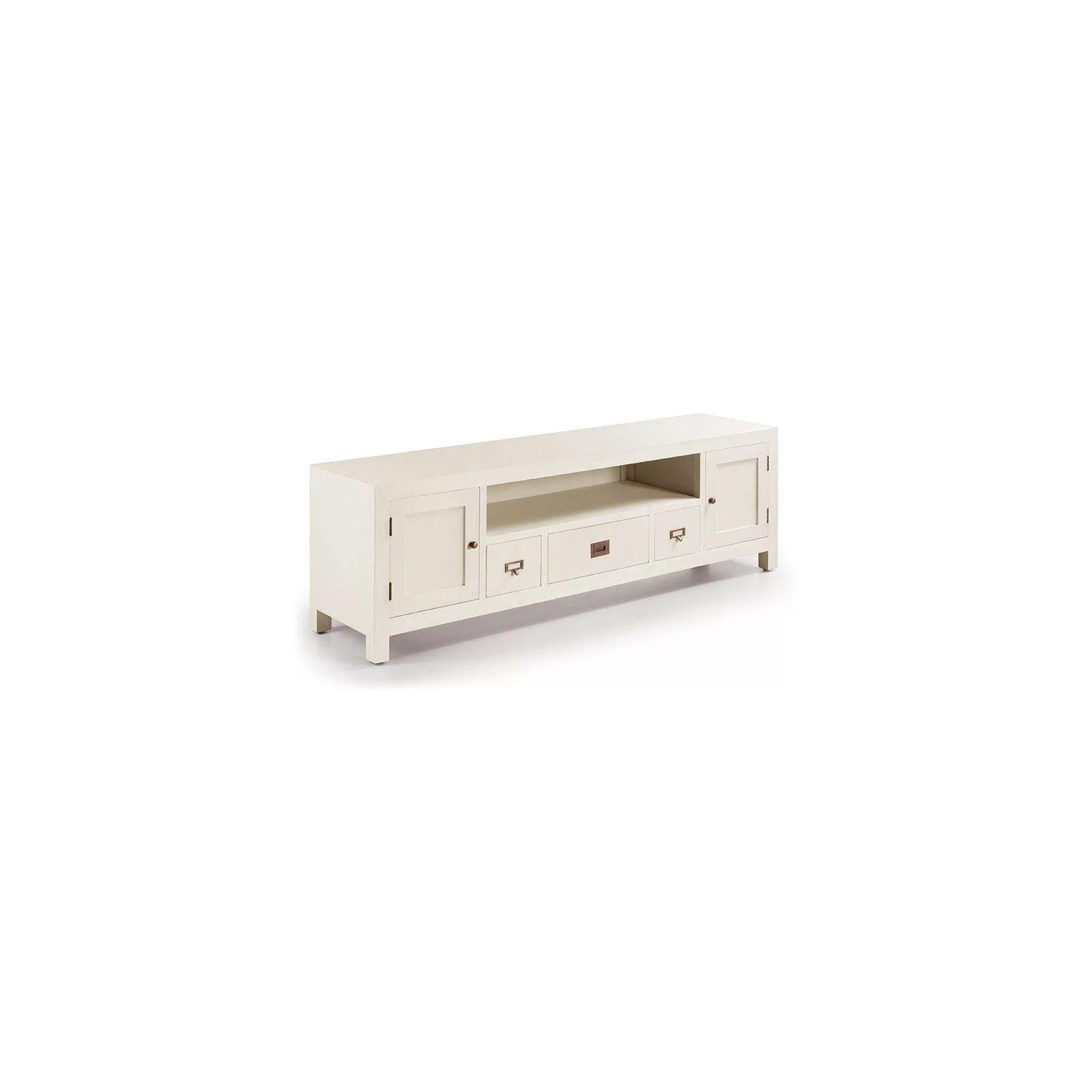meuble tv grand modele sydney acajou