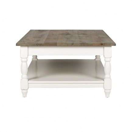 table basse carree bourges victoria pin