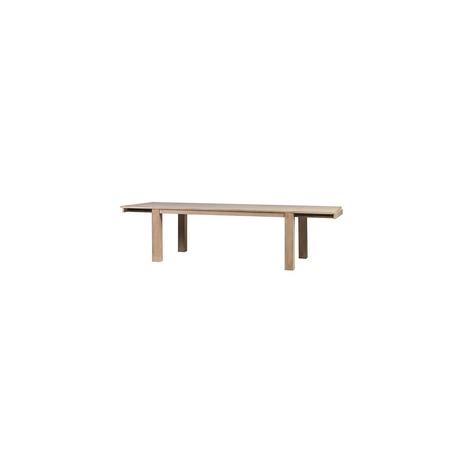 table a rallonges phoenix teck