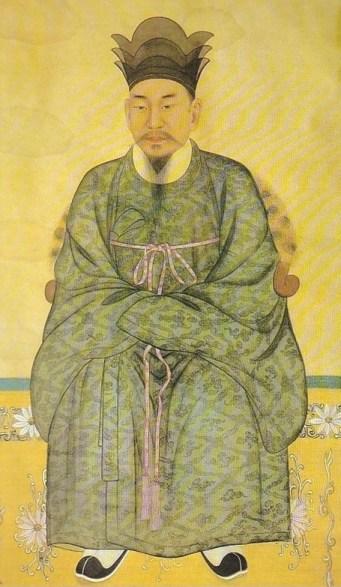 Un portrait classique de Cho Je-u