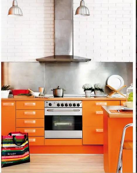 lappartement 224 la cuisine orange planete deco a homes world