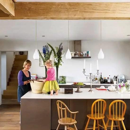 Une maison neuve comme une grange planete deco a homes world for Deco maison neuve