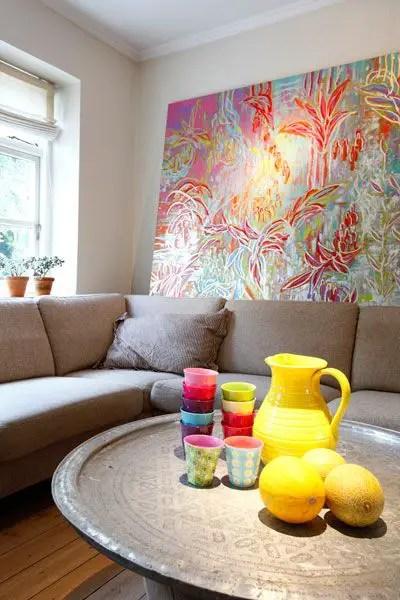 l 39 int rieur d 39 un peintre planete deco a homes world. Black Bedroom Furniture Sets. Home Design Ideas