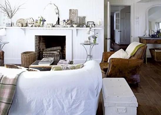 Un cottage anglais tout blanc planete deco a homes world - Cottage anglais connecticut blansfield ...