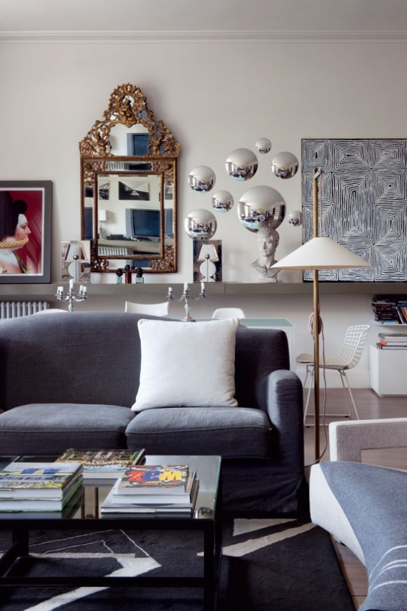 Un appartement d 39 architecte paris planete deco a homes world - Combien coute un architecte d interieur ...