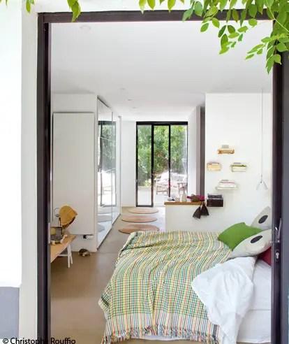 une maison de vacances dans les landes planete deco a homes world. Black Bedroom Furniture Sets. Home Design Ideas
