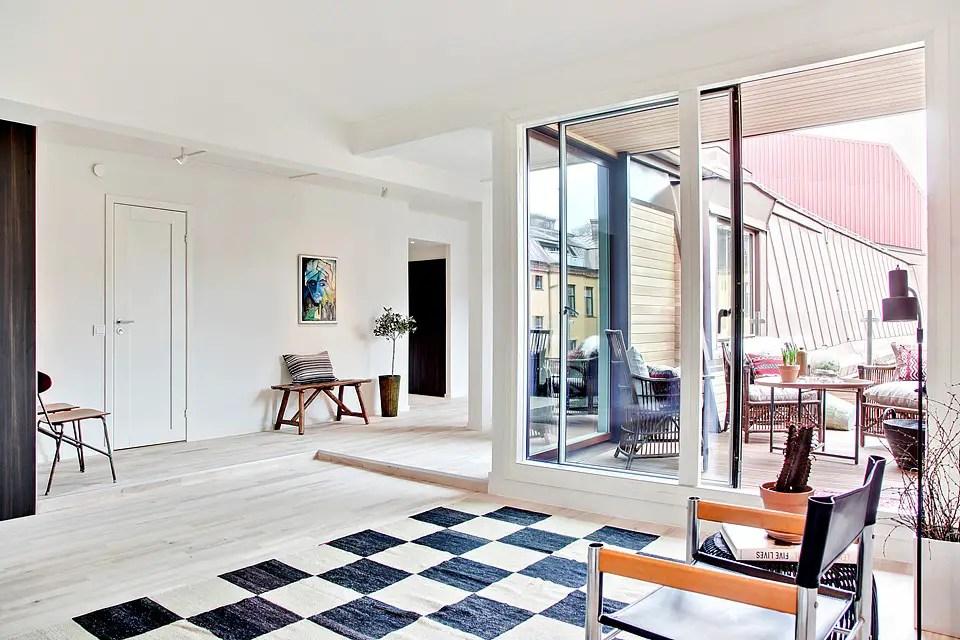 une terrasse en ville planete deco a homes world. Black Bedroom Furniture Sets. Home Design Ideas
