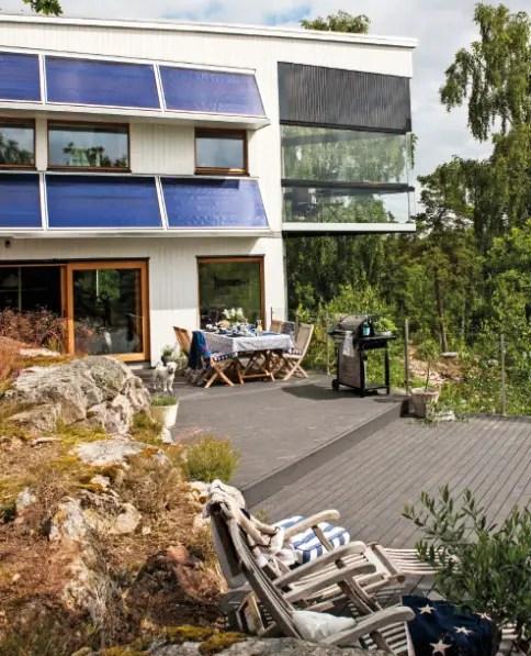 Une maison cologique en pleine nature planete deco a - Maison en pleine nature ...