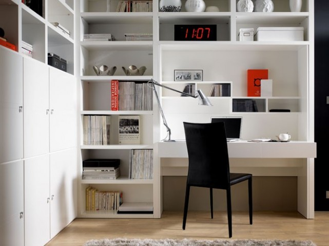question de style un bureau chez soi pour travailler zen planete deco a homes world. Black Bedroom Furniture Sets. Home Design Ideas