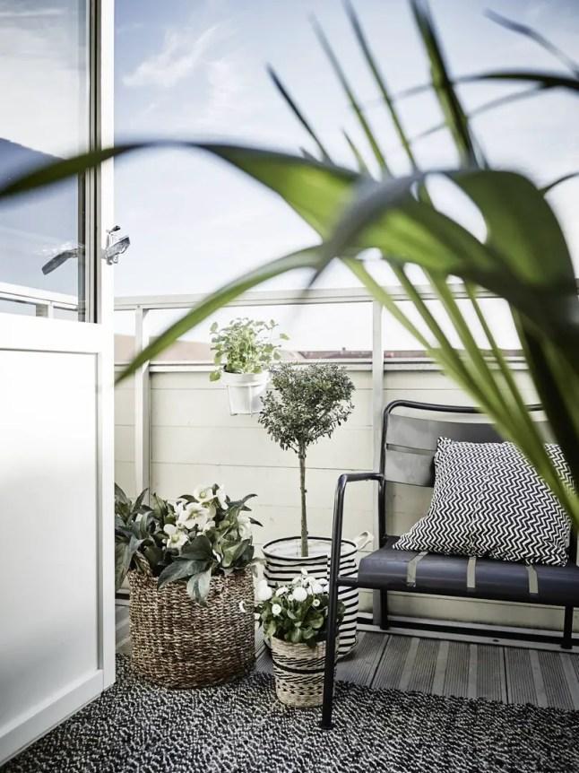 Buitenleven  Lente op het balkon - Woonblog StijlvolStyling.com