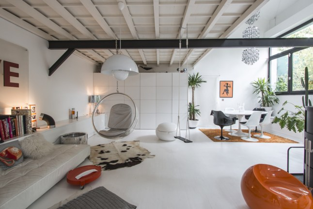 Un loft dans une ancienne usine planete deco a homes world - Decoracion de loft pequenos ...