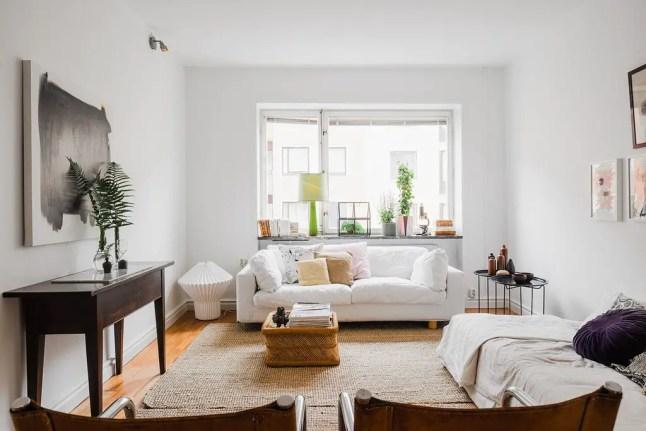 comment am nager un petit appartement en longueur planete deco a homes world bloglovin. Black Bedroom Furniture Sets. Home Design Ideas