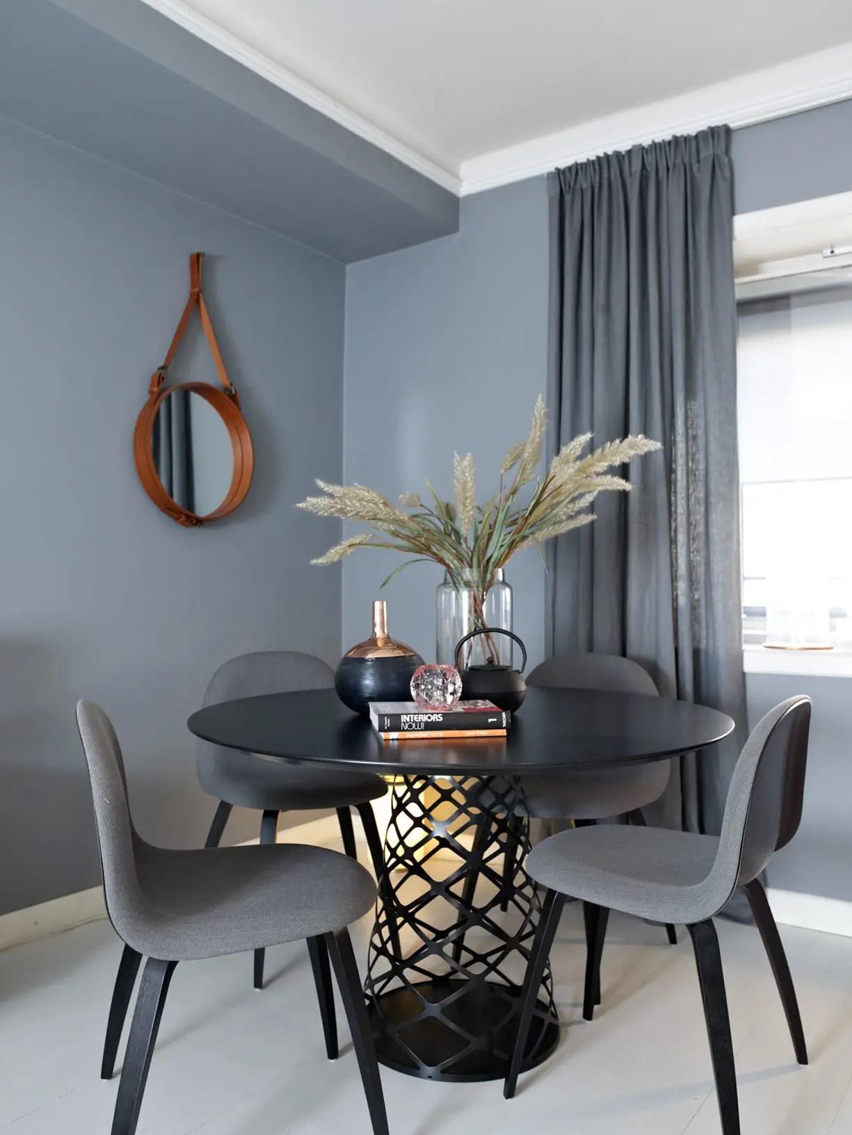 un appartement norv gien en gris bleu planete deco a homes world. Black Bedroom Furniture Sets. Home Design Ideas