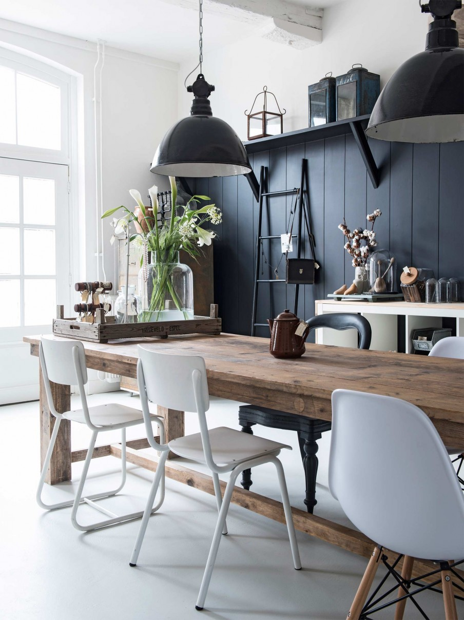 dans l ancienne ferme r nov e planete deco a homes world bloglovin. Black Bedroom Furniture Sets. Home Design Ideas