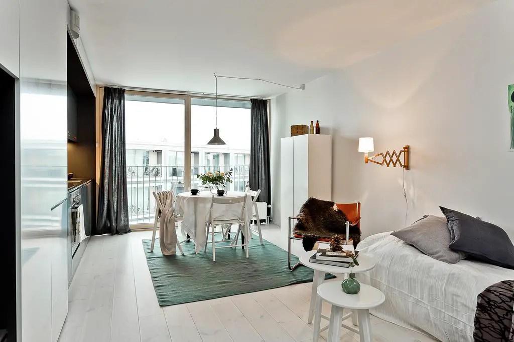 comment am nager un studio en longueur planete deco a homes world. Black Bedroom Furniture Sets. Home Design Ideas