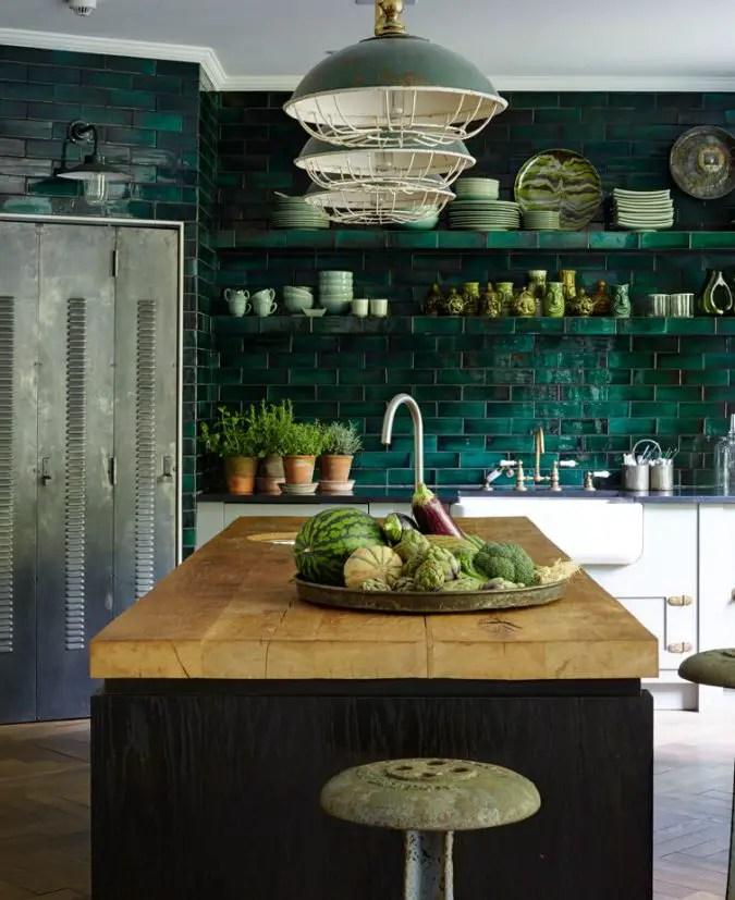 Gekleurde keuken