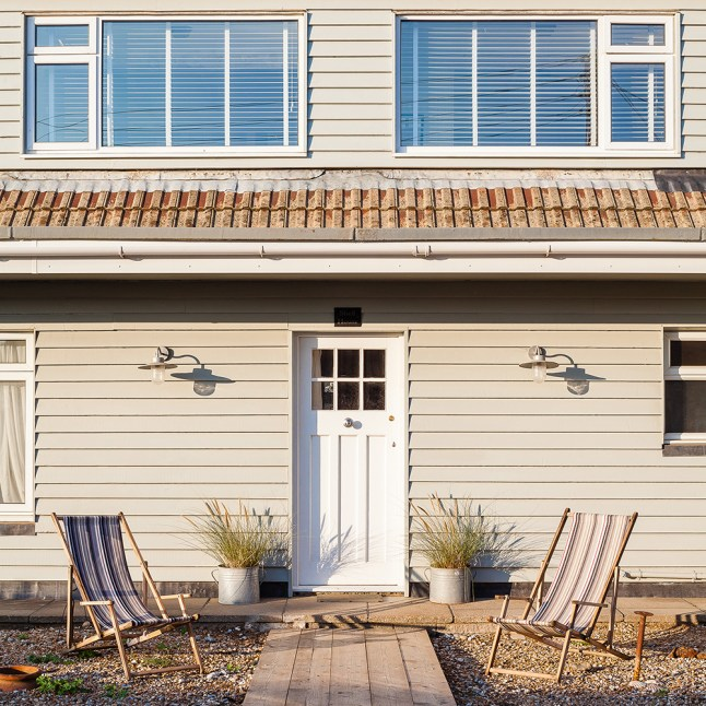 'I wanted it to be a good-old-fashioned seaside home'