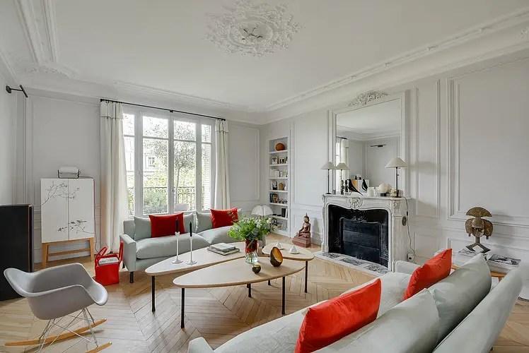 Un appartement haussmannien modernisé | PLANETE DECO a homes world ...