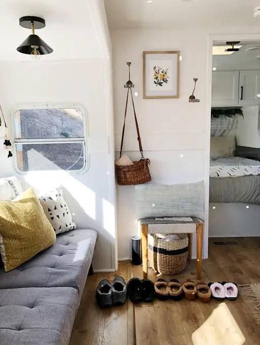 Mini casas: decorar una caravana