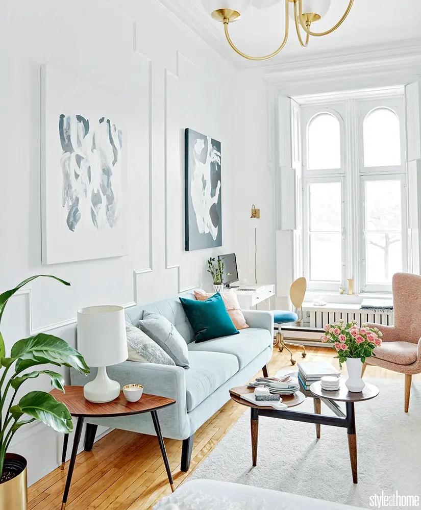 un studio d 39 inspiration parisienne planete deco a homes world. Black Bedroom Furniture Sets. Home Design Ideas