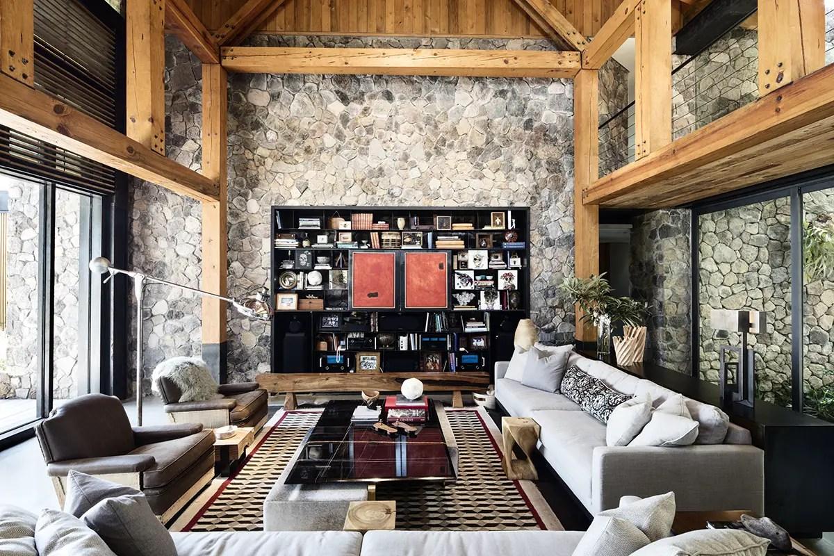Pierre et bois pour une maison d'architecte   PLANETE DECO a homes ...