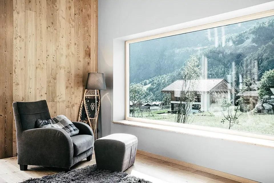 Design bois pour un chalet contemporain - PLANETE DECO a ...