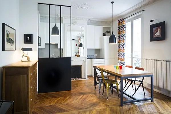 La rénovation d'un appartement haussmanien
