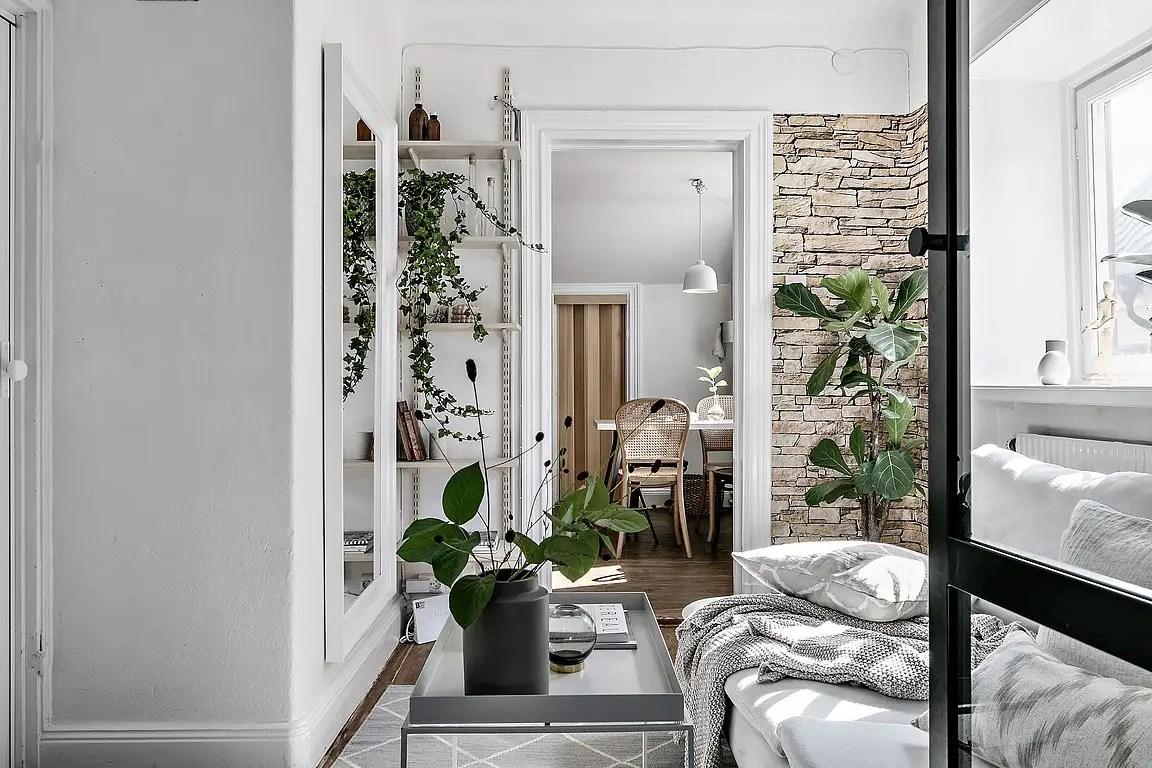 Un petit appartement en enfilade