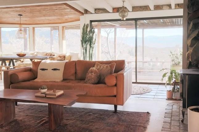 Une maison dans le désert californien