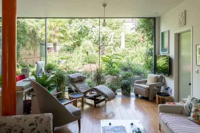 Un jardin de rêve pour une maison londonienne
