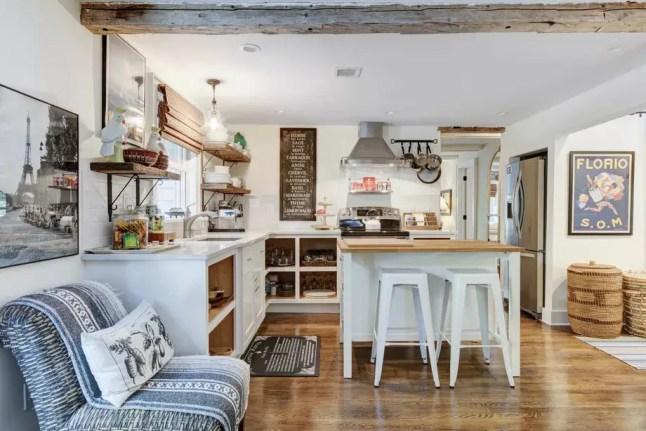 Un charmant cottage au style rustique chic