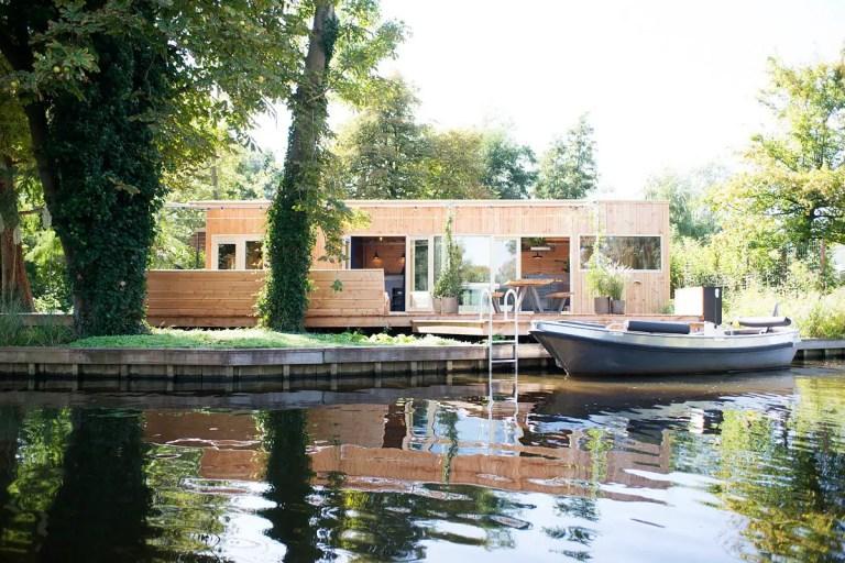 Minicasas: una cabaña en el lago