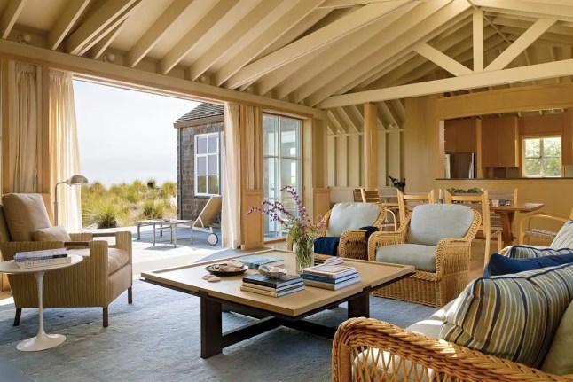 Une maison entre la plage et la montagne par Scavullo Design