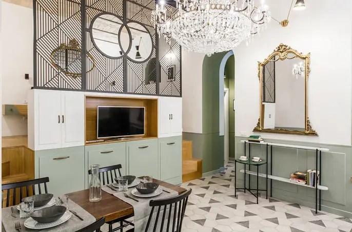 Un appartement au design coloré à Rome