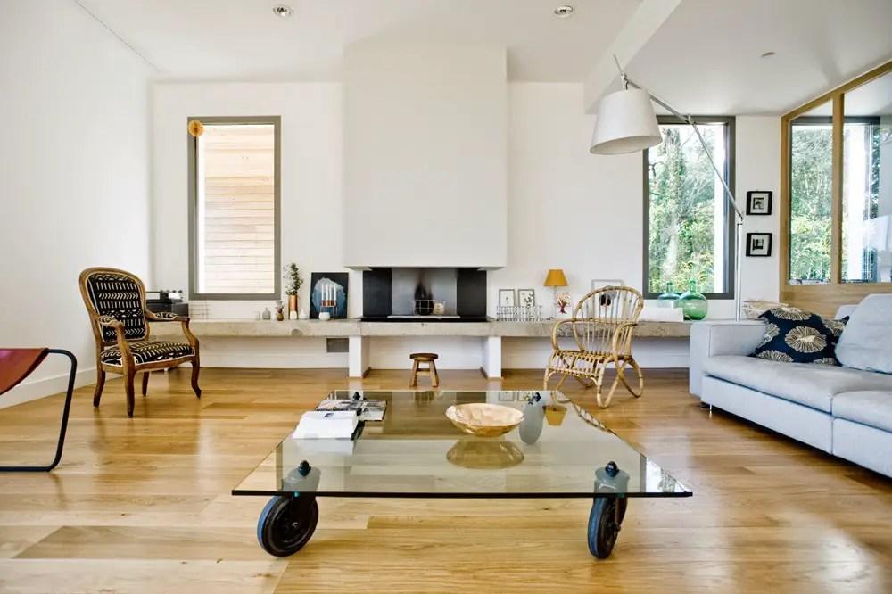 Une maison aux lignes pures et design à Montpellier