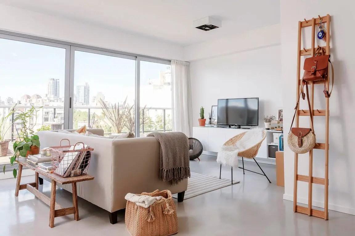 Décoration neutre pour un appartement en Argentine