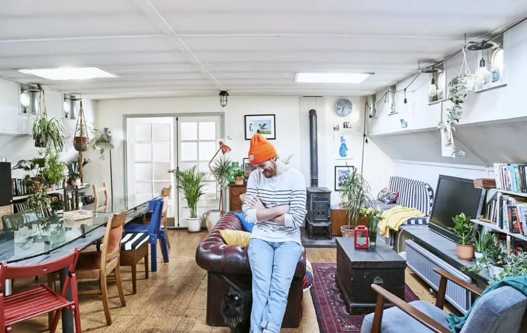 une p niche pour vivre sur la tamise planete deco a. Black Bedroom Furniture Sets. Home Design Ideas
