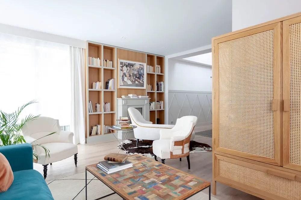 Une maison neuve à la recherche d'une âme à Madrid