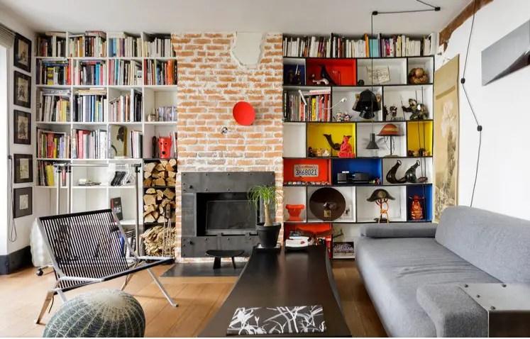 Un appartement à Paris inspiré par la couleur