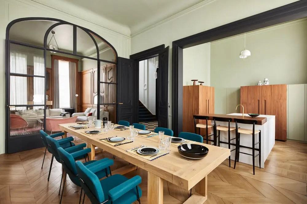 Un hôtel particulier à Lille par Maison Sarah Lavoine