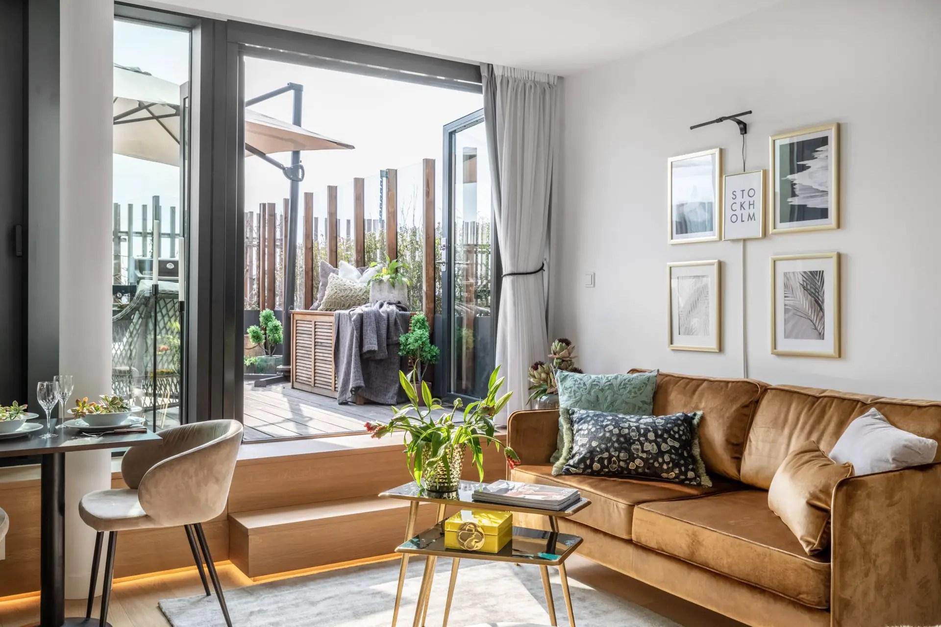 Aimeriez-vous vivre dans un appartement avec terrasse comme à l'hôtel ?