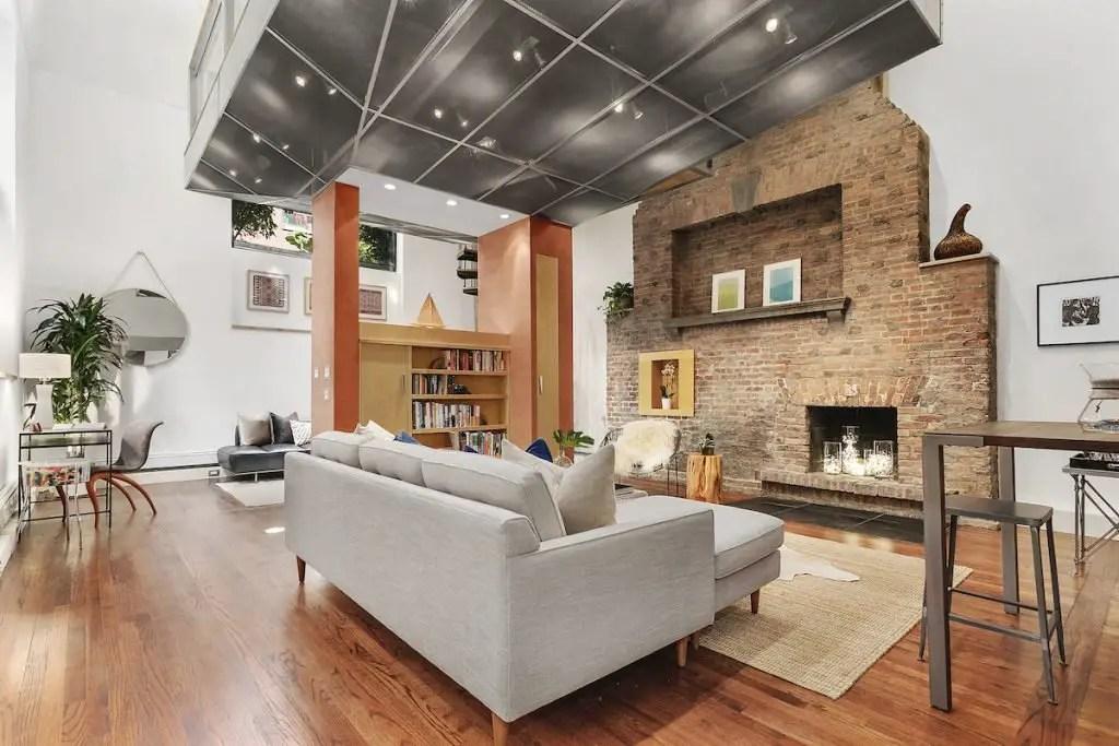 Ce loft en duplex à Greenwich Village était la maison d'un sculpteur célèbre