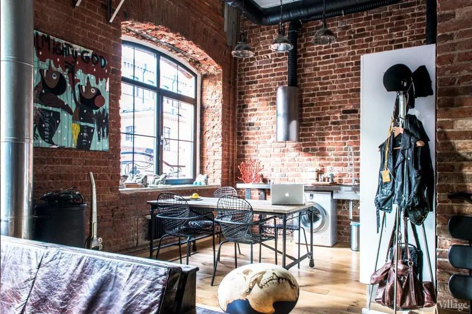 Un loft dans une ancienne usine de tissage à Moscou - PLANETE DECO a homes world