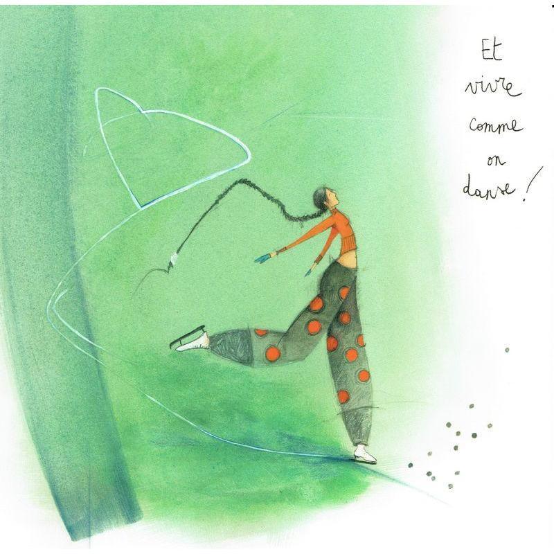 Carte Anne Sophie Rutsaert Et Vivre Comme On Danse