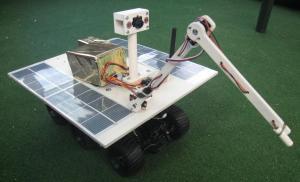 L'ancienne version du robot réel