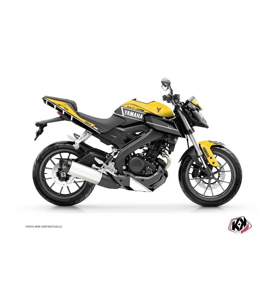 Kit Déco Moto Vintage Yamaha MT 125 60th Anniversary| MT 125