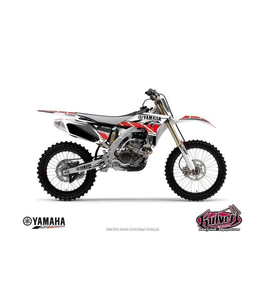 Kit Déco Yamaha 85 YZ REPLICA Rouge  YZ 85