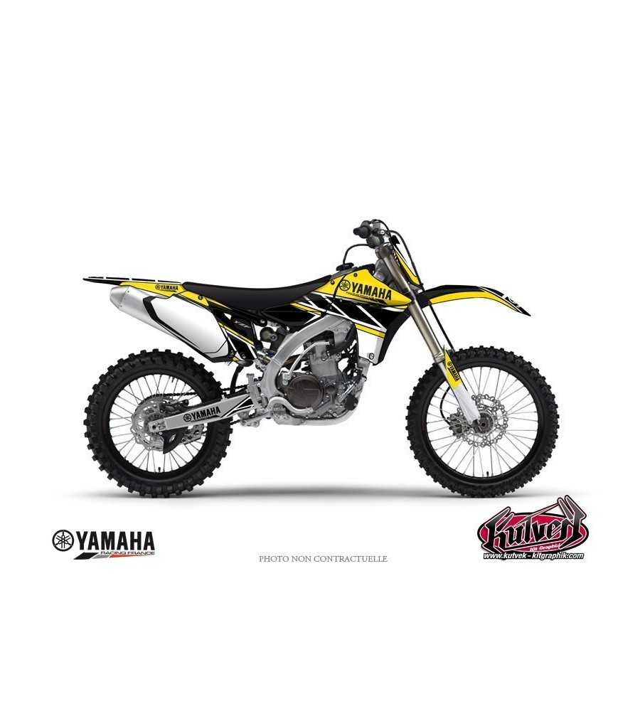 Kit Déco Moto Cross Replica Yamaha 250 YZF Jaune| YZF 250