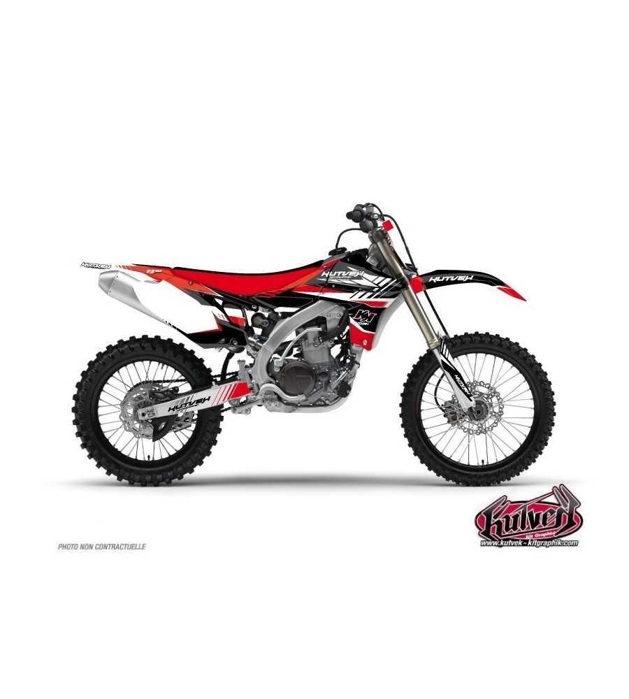 Kit Déco Moto Cross Pulsar Yamaha 250 YZF Rouge| YZF 250